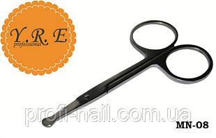 Ножницы маникюрные для ногтей детские YRE MN-08, детские ножницы