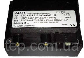 Високовольтний трансформатор MCT ZA 23 075 E25