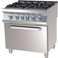 Плита газовая с духовым шкафом RM Gastro SP BT 780-11 GE