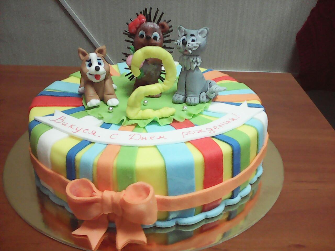 "Торт ""Два годика"""
