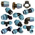 Фитинг компрессионный для наружного водопровода