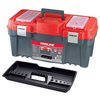 """Ящик для инструментов 18"""" 458х257х245 мм(алюминиевая ручка и замок) Proline HD 35748"""