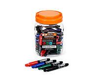 Набор перманентных мини-маркеров Polax 50 шт Цветные (49-001)