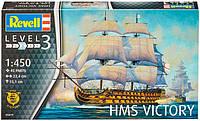Корабль HMS Victory (Admiral Nelson), 1:450, Revell