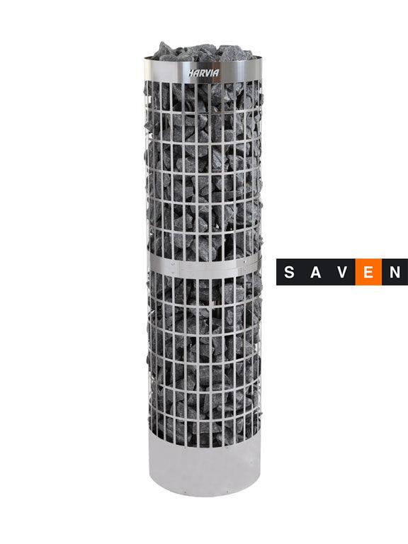 Электрическая печь (каменка) Harvia Cilindro Pro 200E для сауны и бани