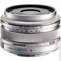 Объектив Olympus EW-M1718 17mm f/1.8 Silver (V311050SE000)