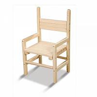 Детский деревянный стульчик растущий сосна 24-28-32