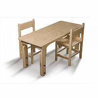 Детский деревянный столик растущий