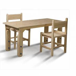 Детский деревянный столик растущий, фото 3