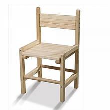 Детский деревянный стульчик растущий сосна 26-30-34