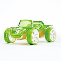 """Детская  деревянная игрушка  каталка из бамбука  """"Beach Buggy"""""""