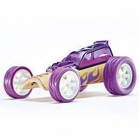"""Детская  деревянная игрушка  каталка из бамбука """"Hot Rod"""""""