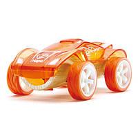 """Детская  деревянная игрушка  каталка из бамбука """"Twin Turbo"""""""