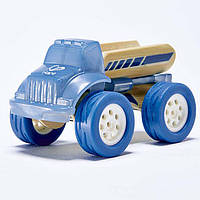 """Детская  деревянная игрушка  каталка  машинка из бамбука """"Pickup Truck"""""""