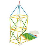 Деревянная игра для развития детей  из бамбука головоломка  «Architetrix Constructor»