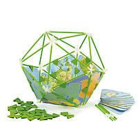 Деревянная игра для развития детей  из бамбука головоломка «Architetrix Globe Set»