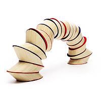 Деревянная игра для развития детей  из бамбука головоломка «Totter Tower»