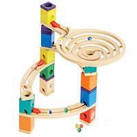 Деревянная игра набор головоломка для развития детей  из бамбука балансир «The Roundabout»