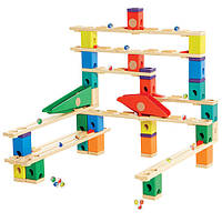 Деревянная игра набор головоломка для развития детей  из бамбука балансир  «Autobahn»