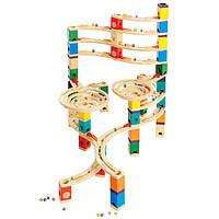 Деревянная игра набор головоломка для развития детей  из бамбука  балансир «Cyclone»