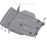 Защита двигателя Mitsubishi Lancer 10 (с 2007---) Митсубиси Лансер