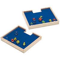 Деревянная игра набор  для развития детей  из бамбука  «Marble Catchers»