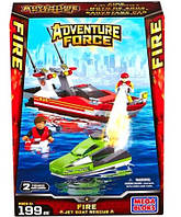 Мега Блокс Спасательная операция на катере конструктор Mega Bloks Adventure Force Force Fire Jet Boat Rescue