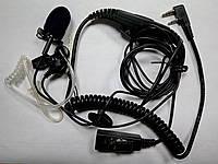 Гарнитура 3-х проводная скрытого ношения A035 K1 для радиостанций Kenwood / Baofeng / Wouxun / Quansheng и тд