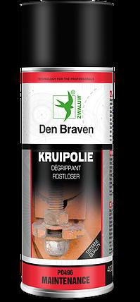 Технический аэрозоль против ржавчины ZW Krupolie 400мл Den Braven, фото 2