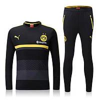 Тренировочный костюм Borussia, Боруссия, Puma, Пума, черный, 2016 - 2017, к7