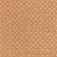 Бумага упаковочная (крафт) - Белые горошки, 50X70 см, 1 шт
