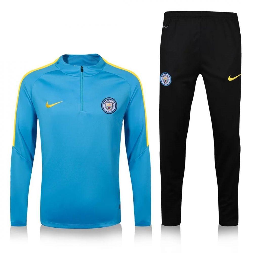a1b339d5 Тренировочный костюм Манчестер Сити, MC, Nike, Найк, синий, 2016 - 2017