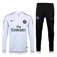Тренировочный костюм ПСЖ, PSG, Nike, Найк, белый, 2016 - 2017, к15