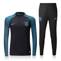 Тренировочный костюм Nike-Barcelona, Барселона, Найк, сине-зеленый, домашний, к27
