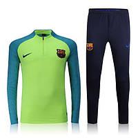 Тренировочный костюм Nike-Barcelona, Барселона, Найк, салатовый, к29