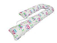 Подушка для беременных KIDIGO J - образная (с наволочкой)