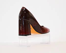 Туфли омбре красные Lirio 65, фото 3