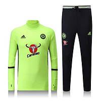 Тренировочный костюм Adidas-Chelsea, Челси, Адидас, салатовый цвет, к45