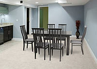 Прямоугольный кухонный стол и стулья КОМПЛЕКТ № 35
