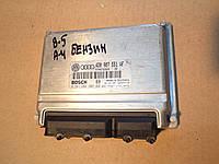 Блок управления бензиновым двигателем  Volkswagen Passat B5, 4D0907551AF