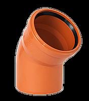 Pestan 110/45 Колено для наружных работ PVC