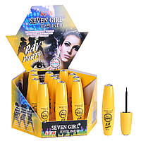 "Подводка для глаз Seven Girl ""Rav Party"" - 673С (Желтая упаковка)"
