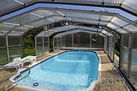 Композитный бассейн Онтарио 8,80х4,00м глубиной 1,06-1,62м, фото 1