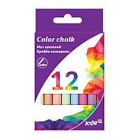 K17-075-2 Мел цветной, 12шт., Kite