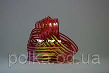 Красная лента для бантов с красивым переливом (ширина 3 см)1уп-25ярдов
