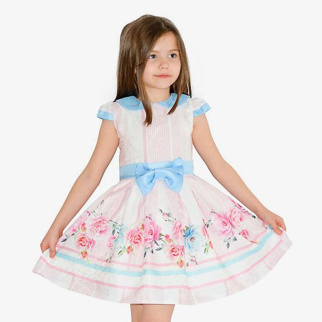 Купить детские нарядные детские платья с болеро 4aa27198eff84