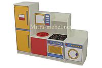 Детская игровая кухня Жасмин (1600*420*1200h)
