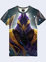 """Замечательная мужская футболка """"Silencer"""" с модным геймерским принтом/рисунком на лето."""