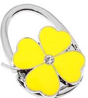 Надежный сумкодержатель Jinli JIN136 цветок клевер желтый