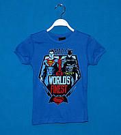 Детские футболки для мальчиков 110-128 см, Детская одежда турция оптом